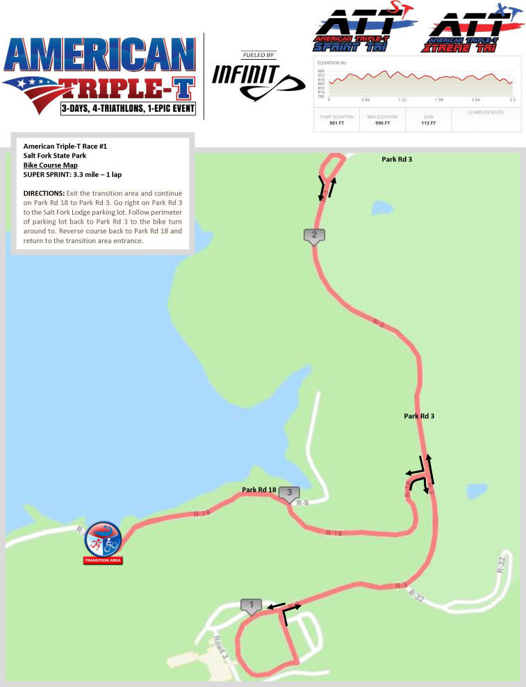 Course Details | American Triple-T fueled by INFINIT | HFP ... on salt fork campground map, burr oak state park cabin map, buck creek state park cabin map, salt fork trail map, salt fork lake map, pymatuning state park cabin map, hueston woods state park cabin map, ohio mohican state park trail map,
