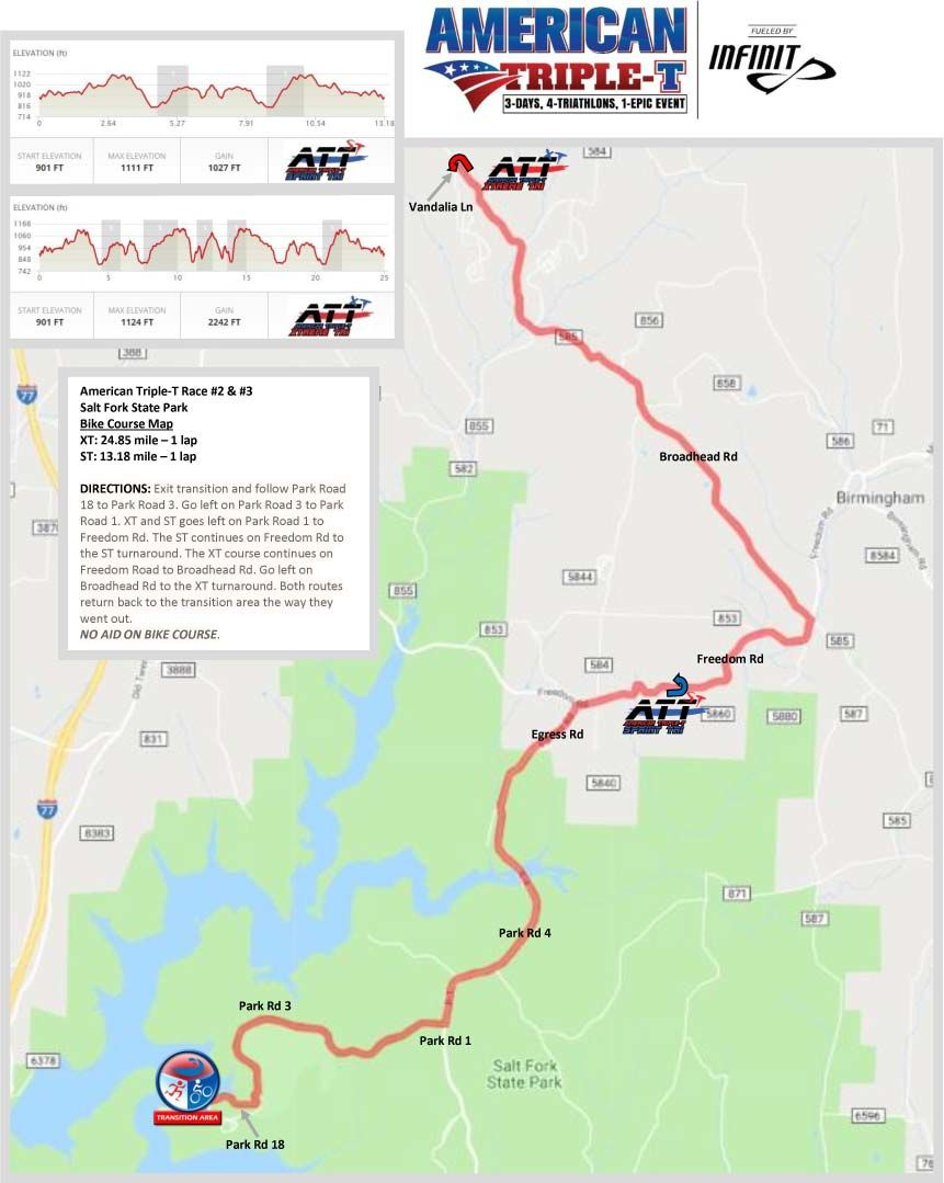 Map Of America By Race.Course Details American Triple T Fueled By Infinit Hfp Racing