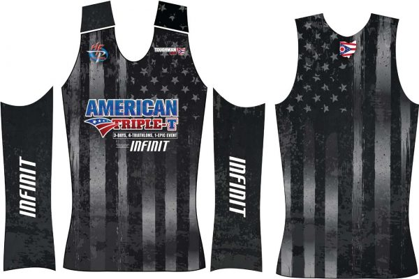 Official American Triple-T Race Singlet